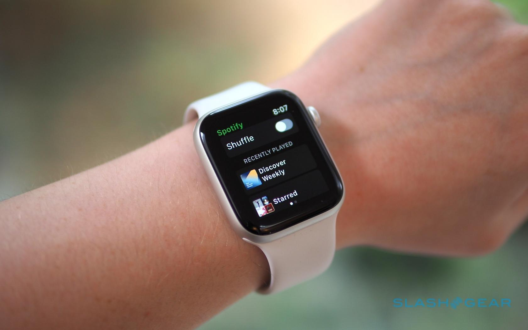 can you use spotify app on apple watch
