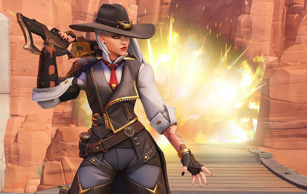Overwatch gets new hero Ashe, leader of the Deadlock Gang