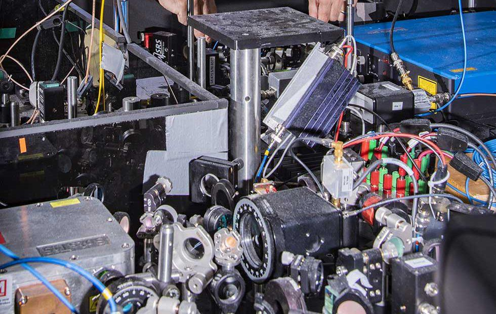 Incredibly accurate atomic clocks may detect faint signals from dark matter