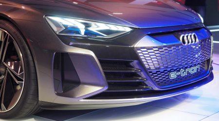 Audi e-tron GT Concept Gallery
