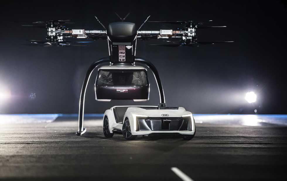 Pop.Up Next Flying Taxi concept is in testing