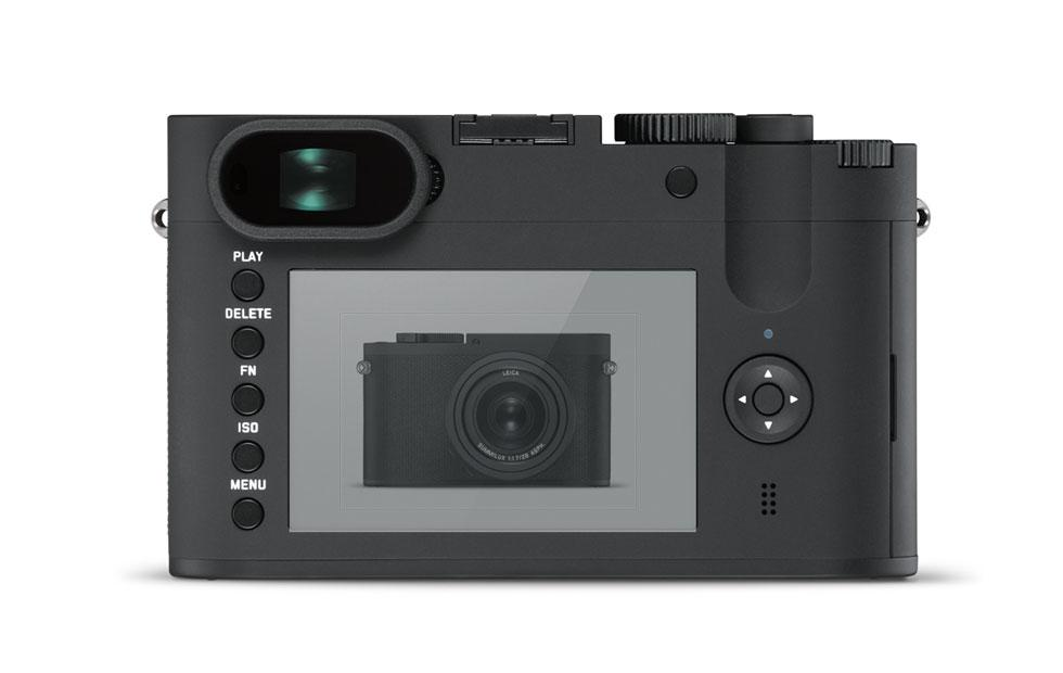 Leica Q-P revealed with two batteries