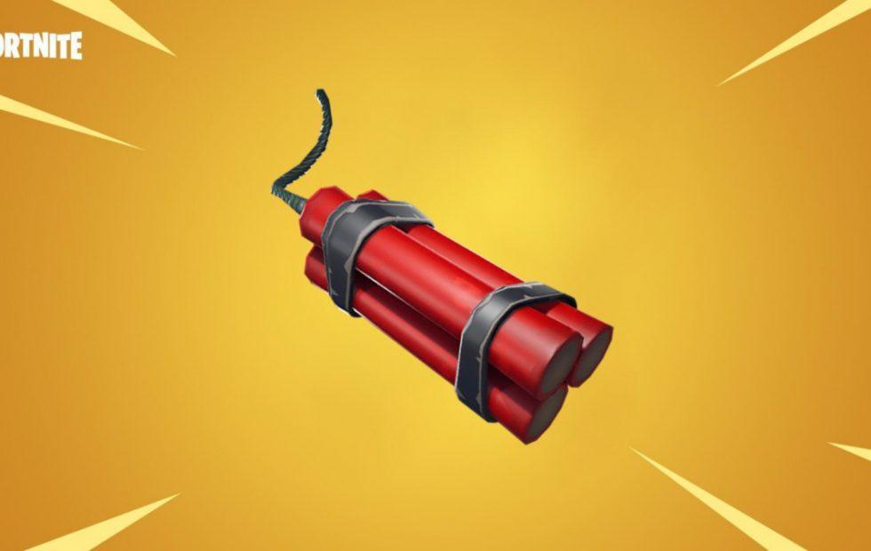 Fortnite will get Dynamite explosive weapon in near future