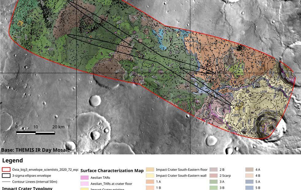 ESA ExoMars mission leans towards Oxia Planum for Mars landing site