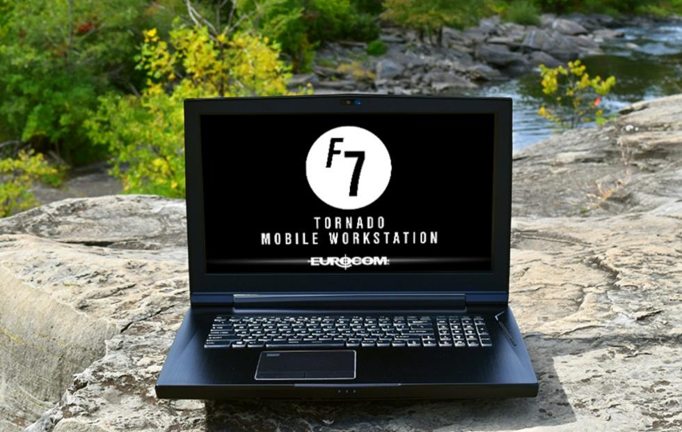 Eurocom Tornado F7W is a monster workstation in laptop form