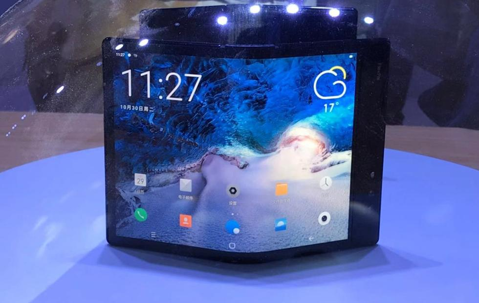 The Samsung Galaxy foldable phone just got beat by this