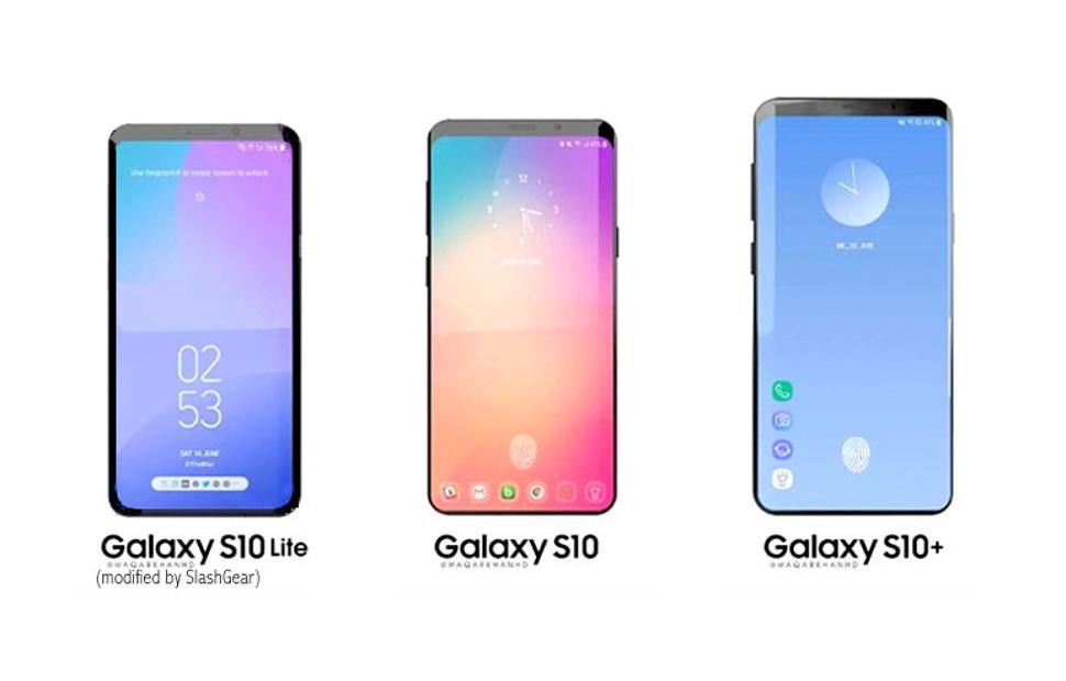 Galaxy S10 leaks: colors, flat display, fingerprint scanner