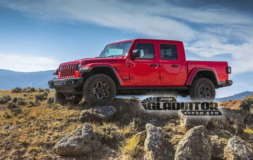 Jeep Gladiator leak gives up pics and details on the anticipated truck