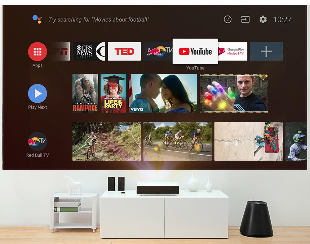 Xiaomi Mi Laser 150in Android TV projector debuts as Walmart