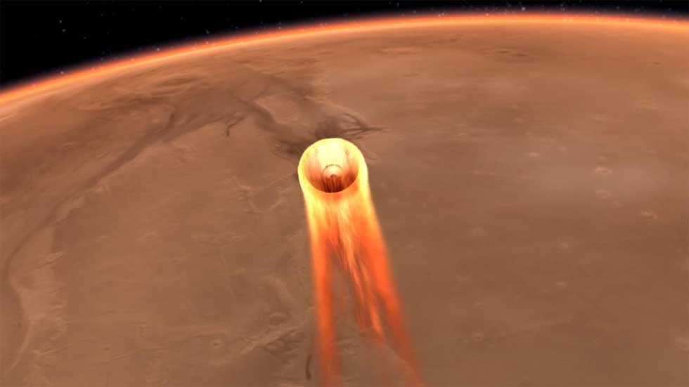 NASA's InSight lander set to score a touchdown on Nov 26