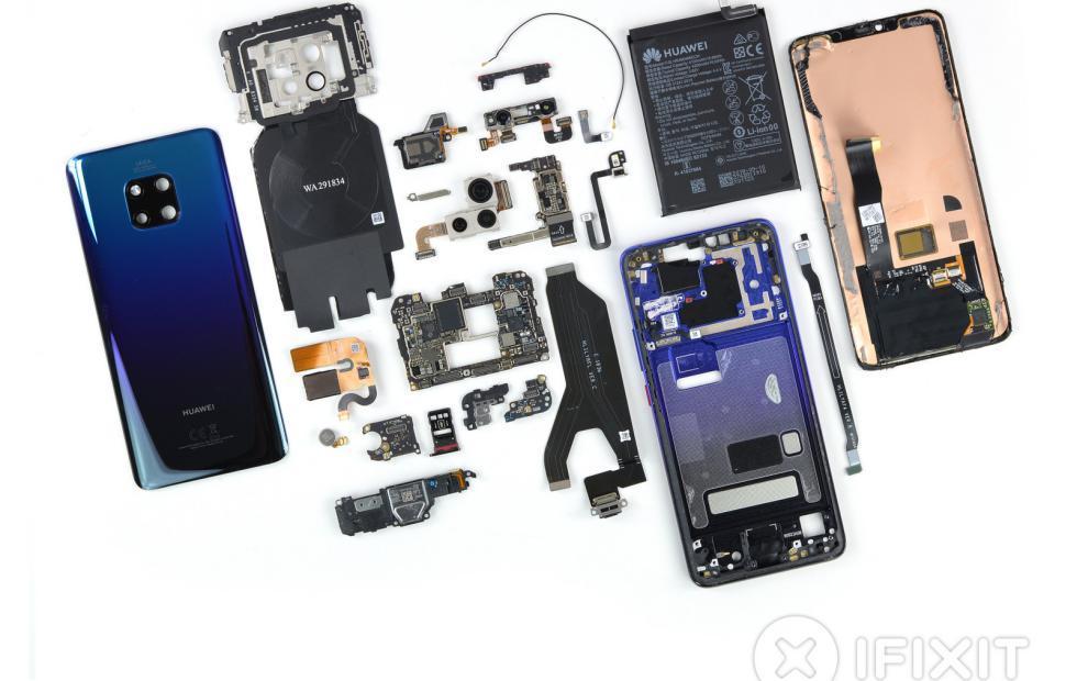 Huawei Mate 20 Pro teardown holds no secrets