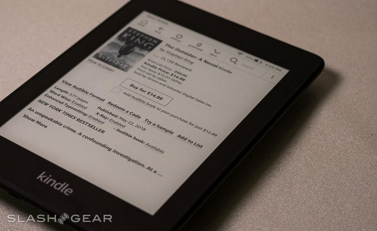 Amazon Kindle Paperwhite Review (2018) - SlashGear