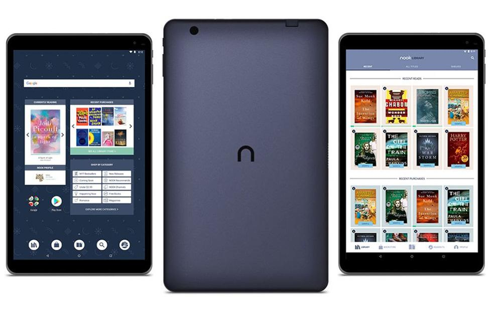 B&N Nook Tablet 10.1″ offers Google Play and keyboard support