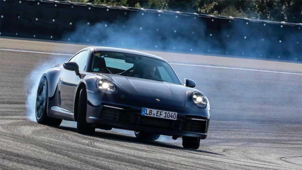 Porsche put the 8th gen 911 sports car through rigorous testing