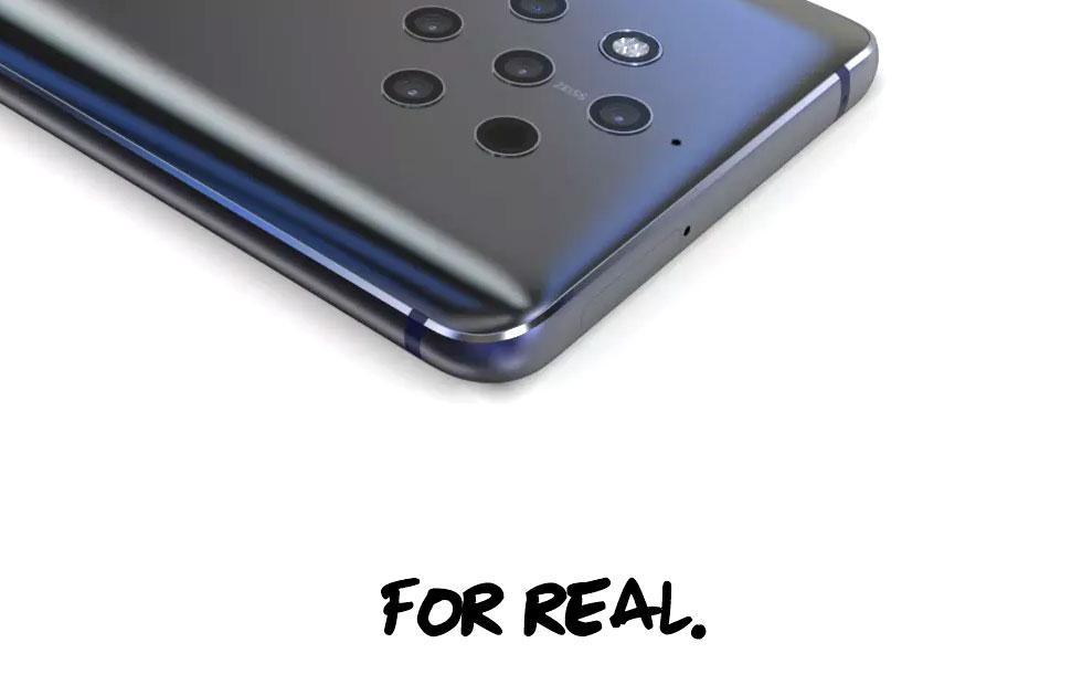 Nokia 9 images are here: 5 lenses, bonkers reality