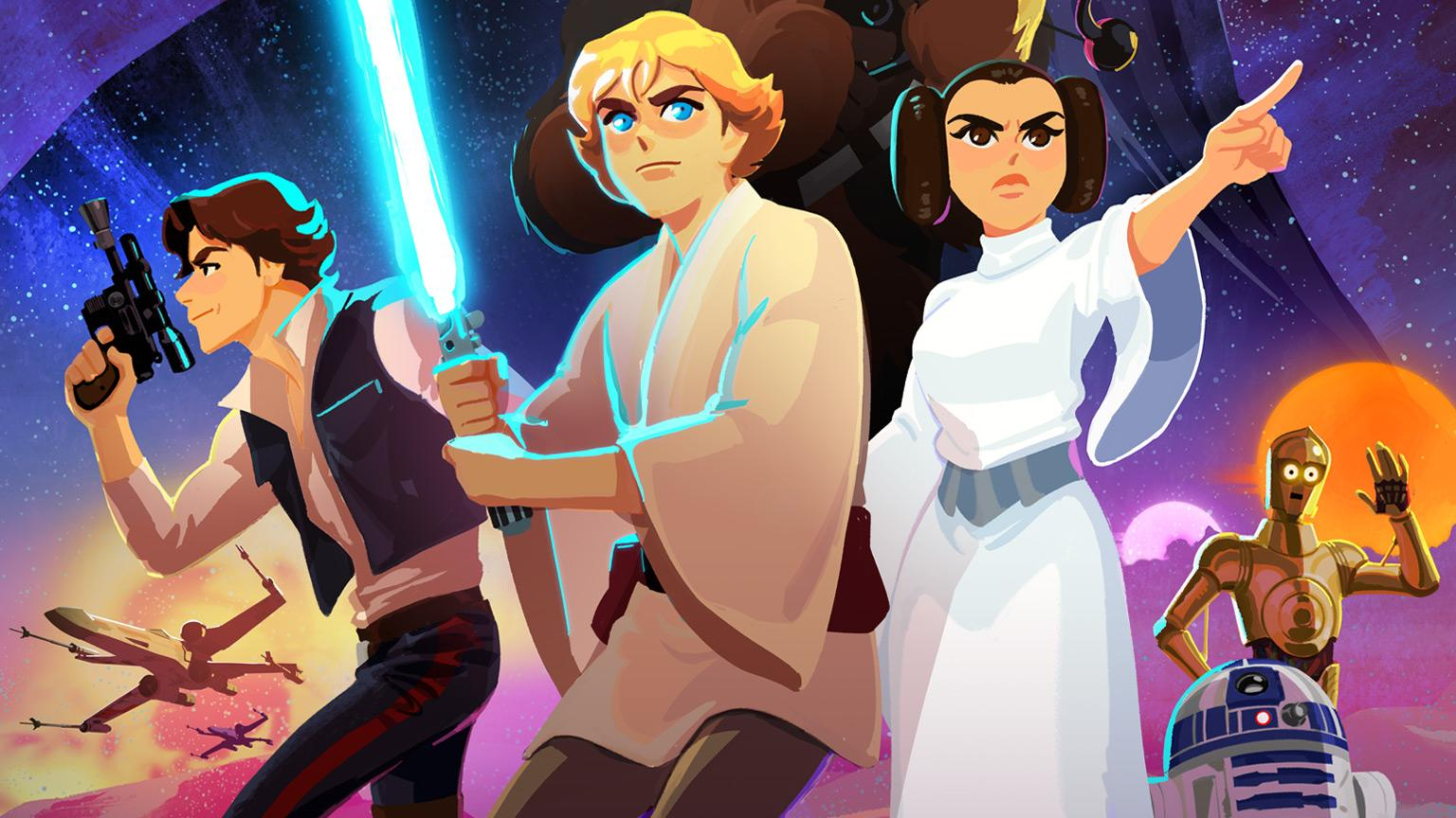 Star Wars Original Trilogy Will Be Turned Into Animated Shorts For Kids Slashgear