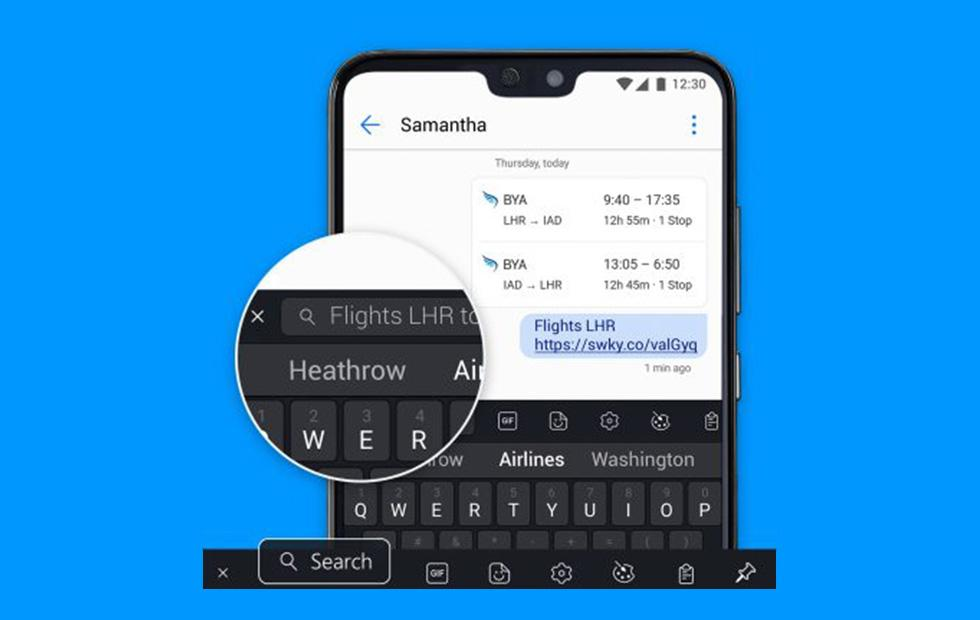 SwiftKey for Android gets built-in search for rapid web browsing