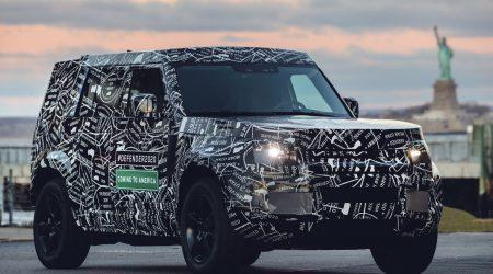 2020 Land Rover Defender Gallery