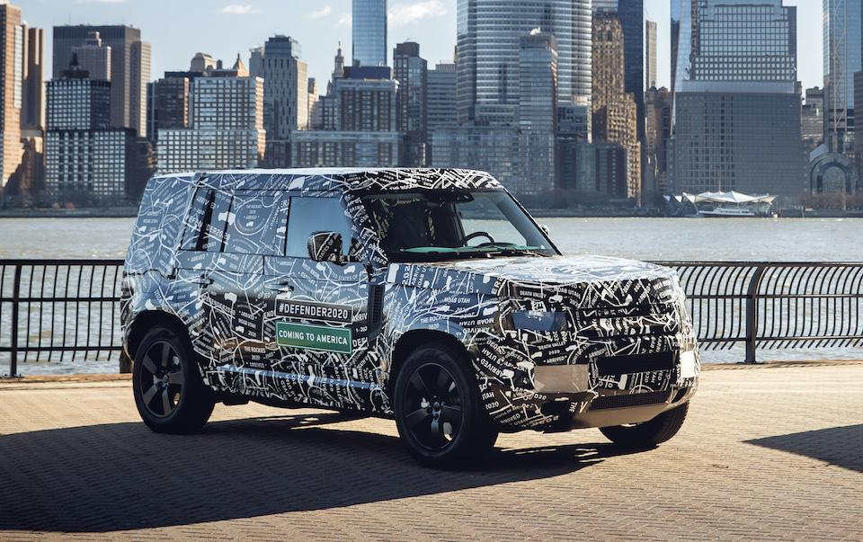The 2020 Land Rover Defender is coming to America