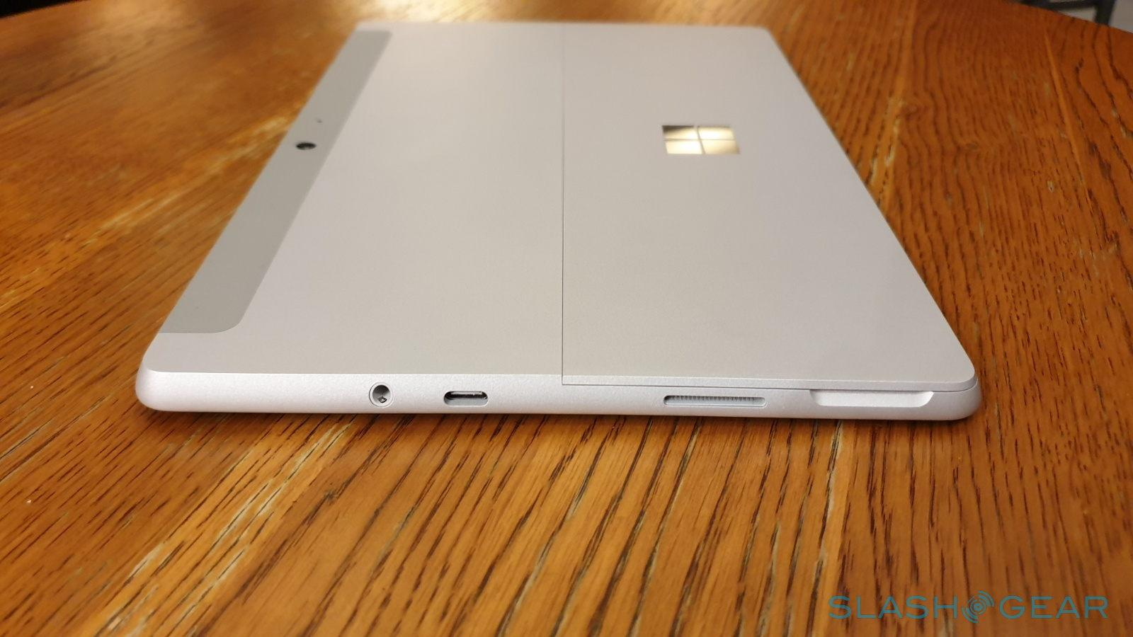 Surface Go with Linux Review: almost the perfect open source notepad