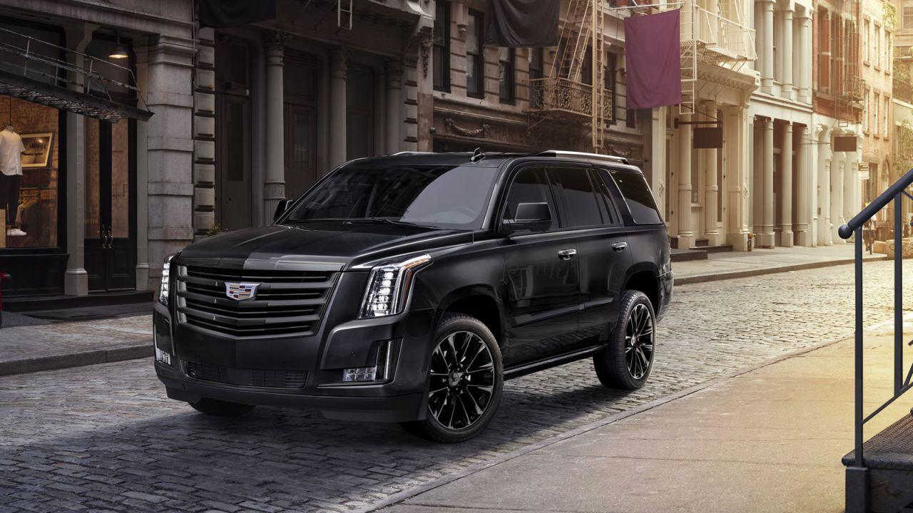 Cadillac Escalade Sport Edition is a darker form of luxury SUV