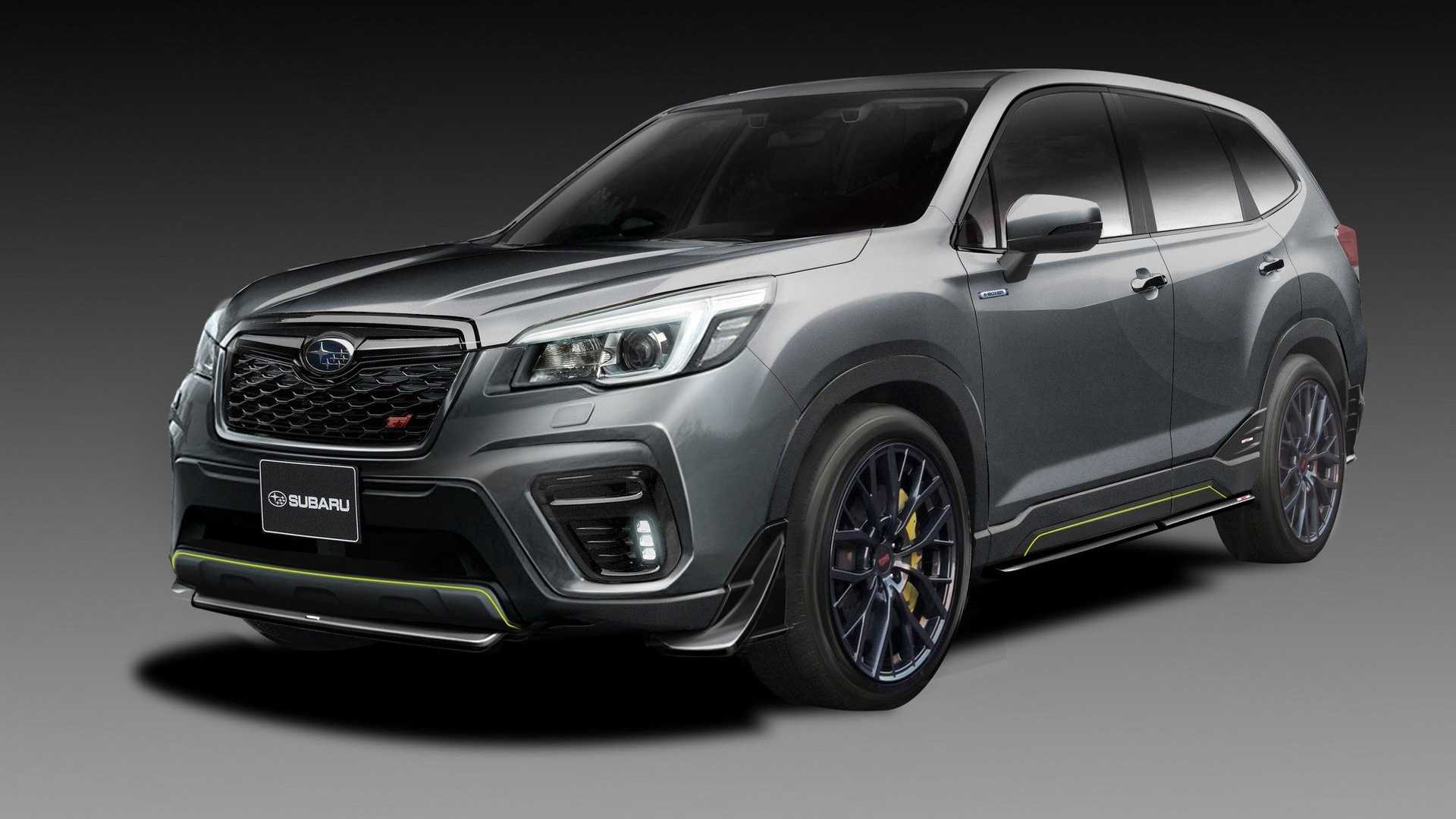 Subaru Latest Models >> Subaru Impreza Sti And Forester Sti Concepts Tease 2019