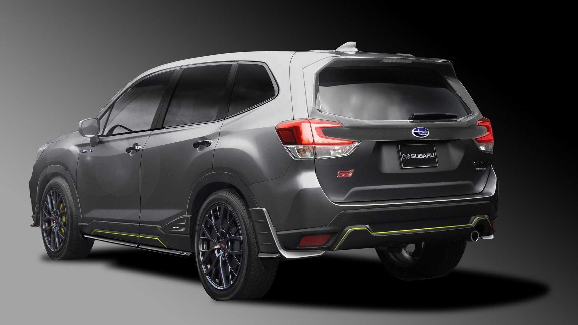 Subaru Impreza STI and Forester STI concepts tease 2019