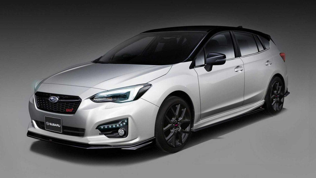 Subaru Impreza STI and Forester STI concepts tease 2019 reveals
