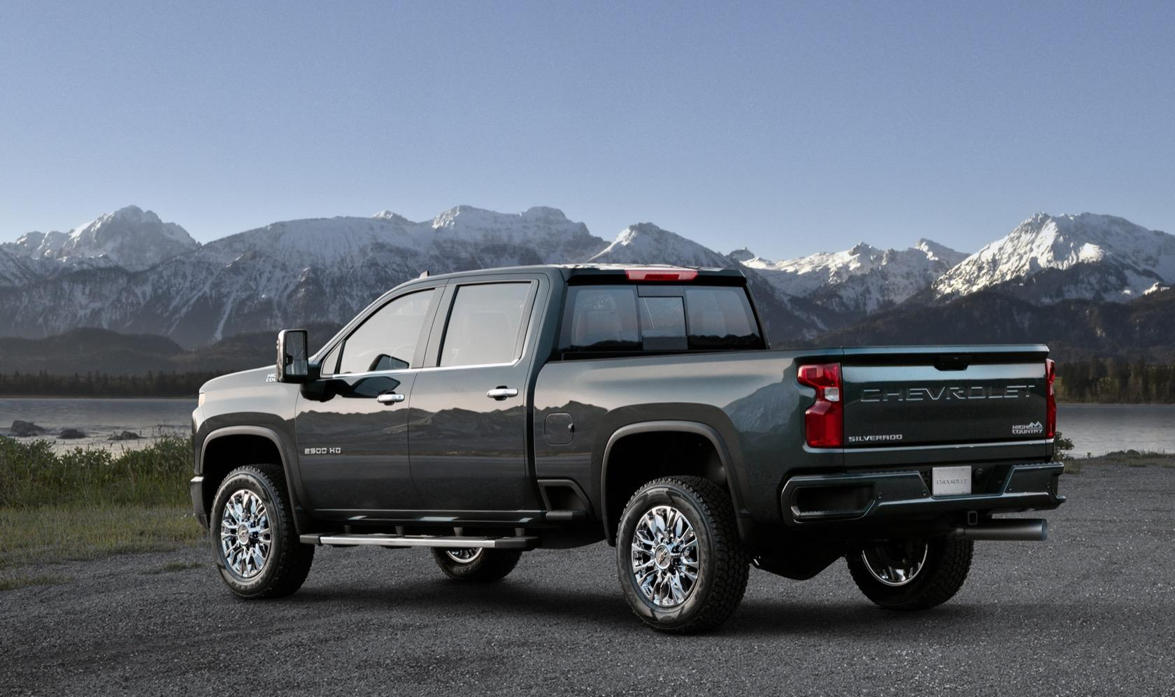High Country Truck >> This Is The Top Of The Range 2020 Silverado Hd High Country