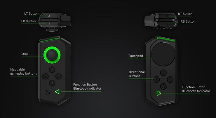 Xiaomi Black Shark Gamepad 2 0 finally makes the Switch
