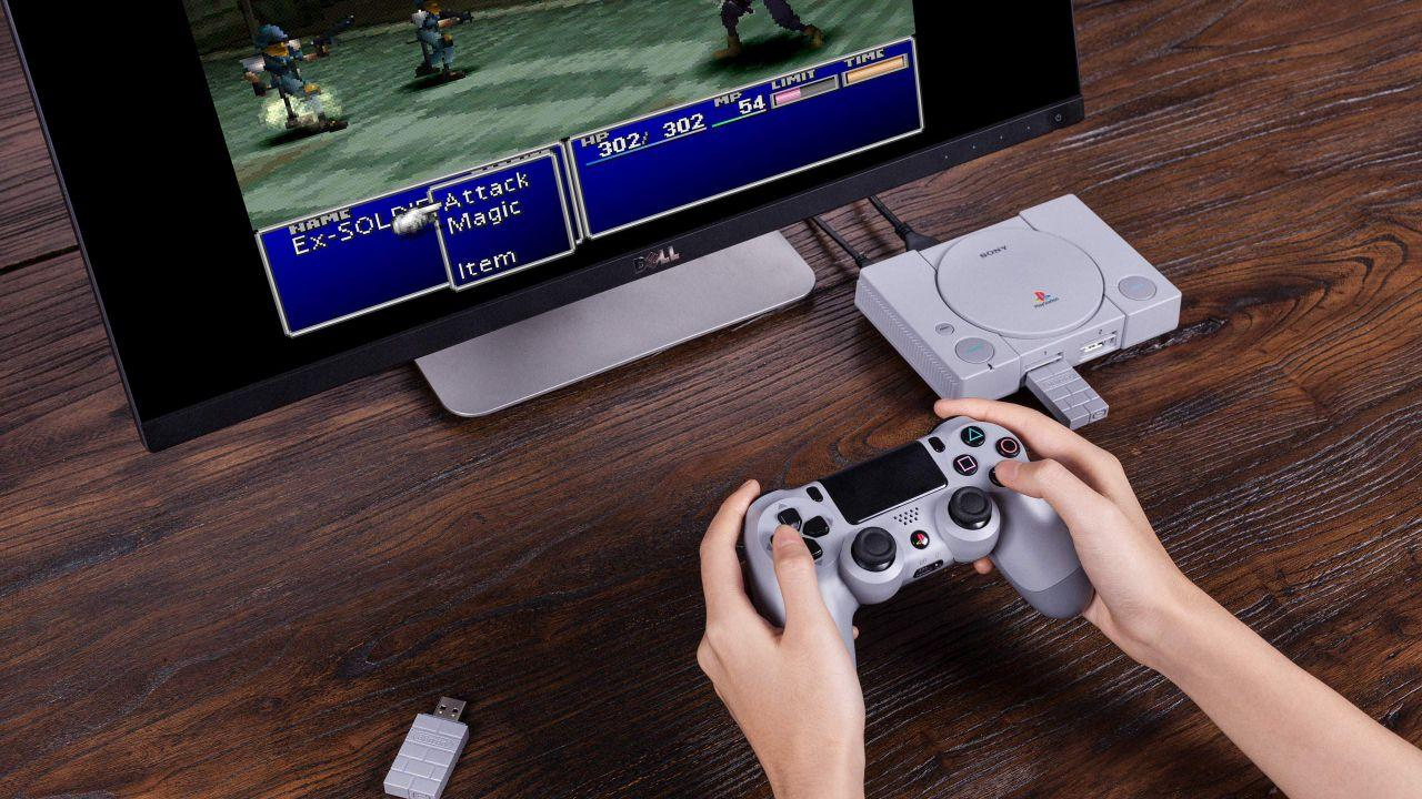 PlayStation Classic goes wireless with new 8bitdo adapter
