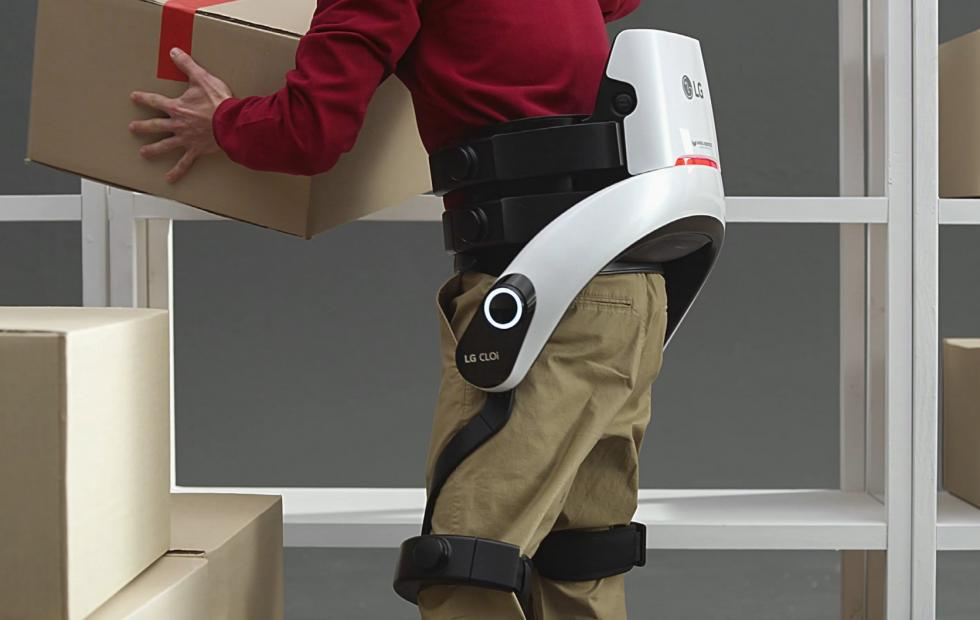 LG CLOi SuitBot now looks less like an exosuit