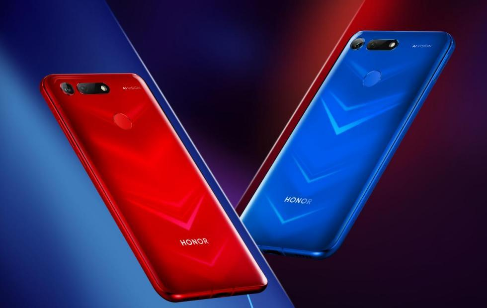Honor View 20 flaunts 48MP camera, punch-hole, nanolithography