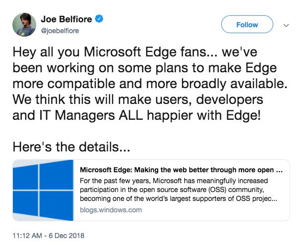 Microsoft Edge Chromium rumor just confirmed - SlashGear