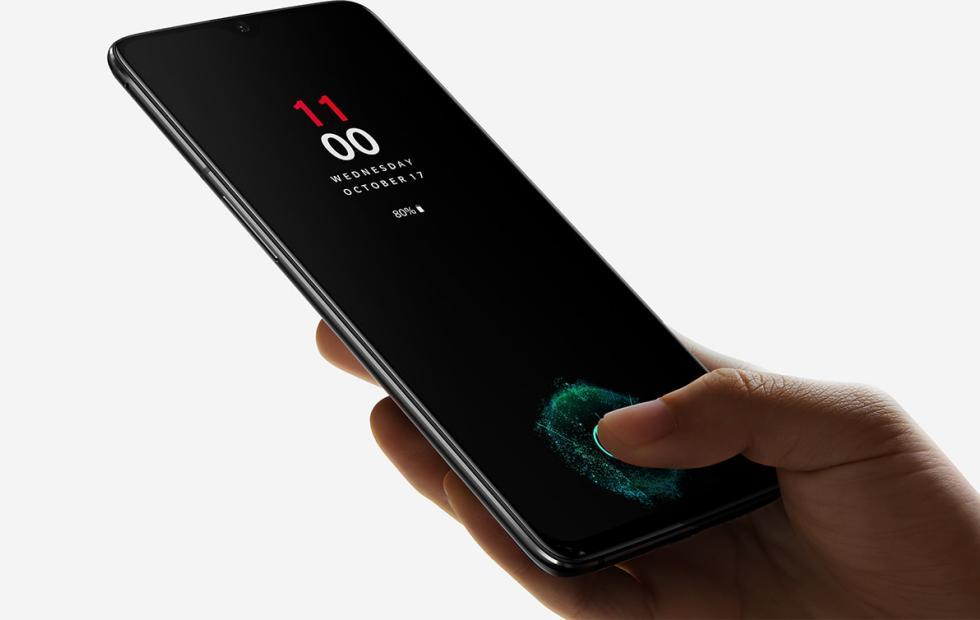 OnePlus 6T fingerprint sensor unlocks faster over time