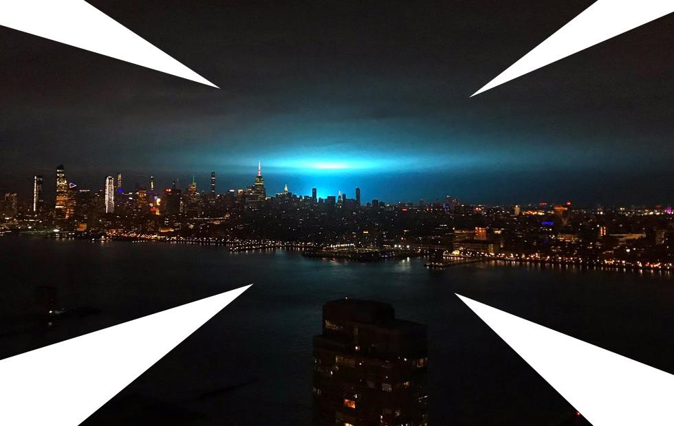 10 reasons for the blue sky explosion in New York City
