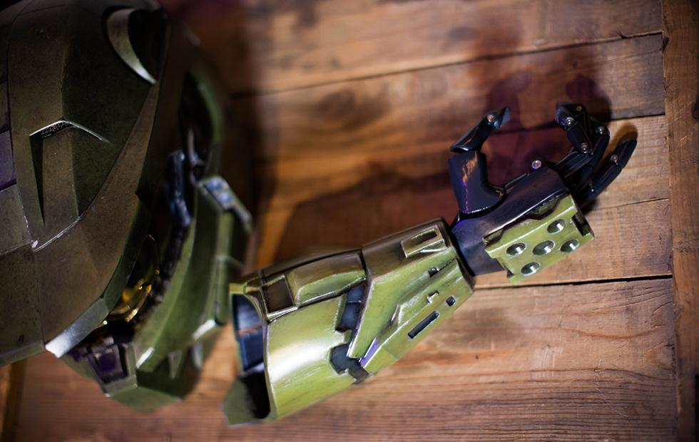 343 Industries and non-profit launch Halo-themed prosthetic for kids