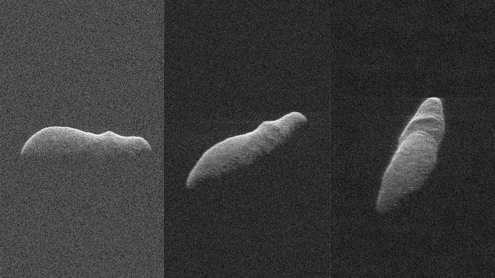 NASA imaged Christmas hippo asteroid with radar
