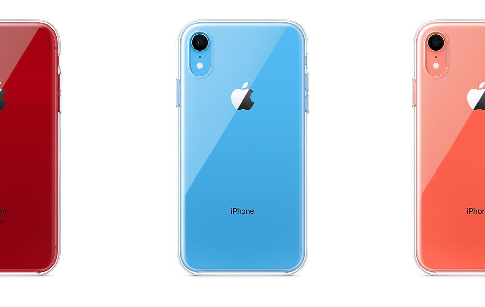 iPhone XR Clear Case released at Apple, at last