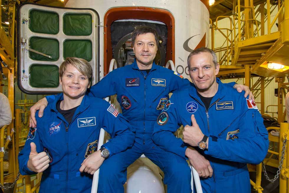 ISS' newest crew members arrive at the space station