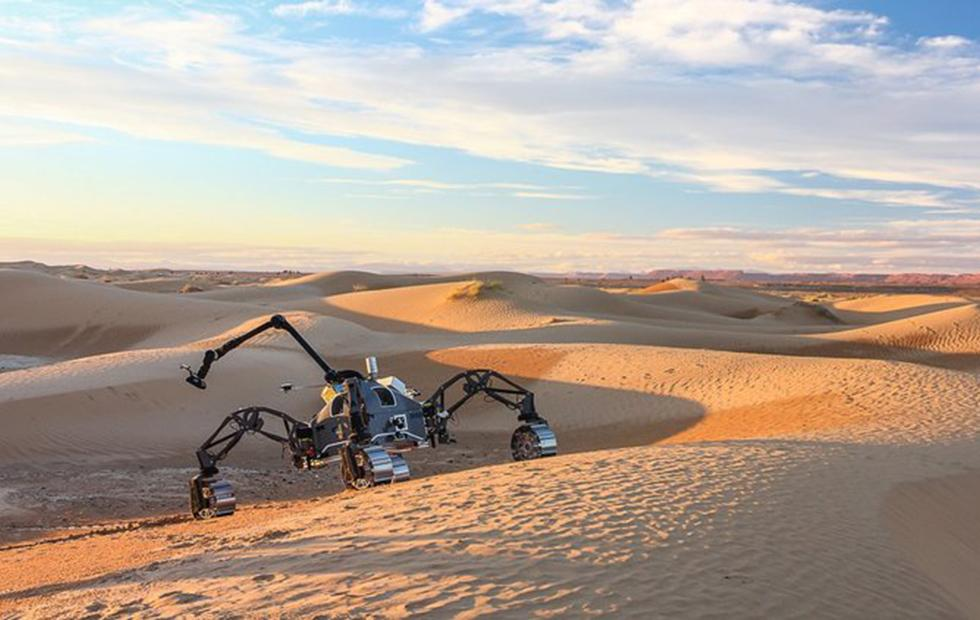 Europe field tests rovers in Morocco's Mars-like desert landscape