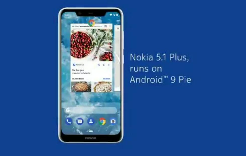 Nokia 5.1 Plus Android 9 Pie update also brings Pro Camera mode