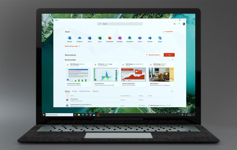 Microsoft releases new Office app for Windows 10 to Insiders