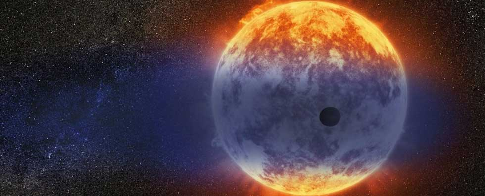 Exoplanet newly discovered is losing its atmosphere at an incredible rate