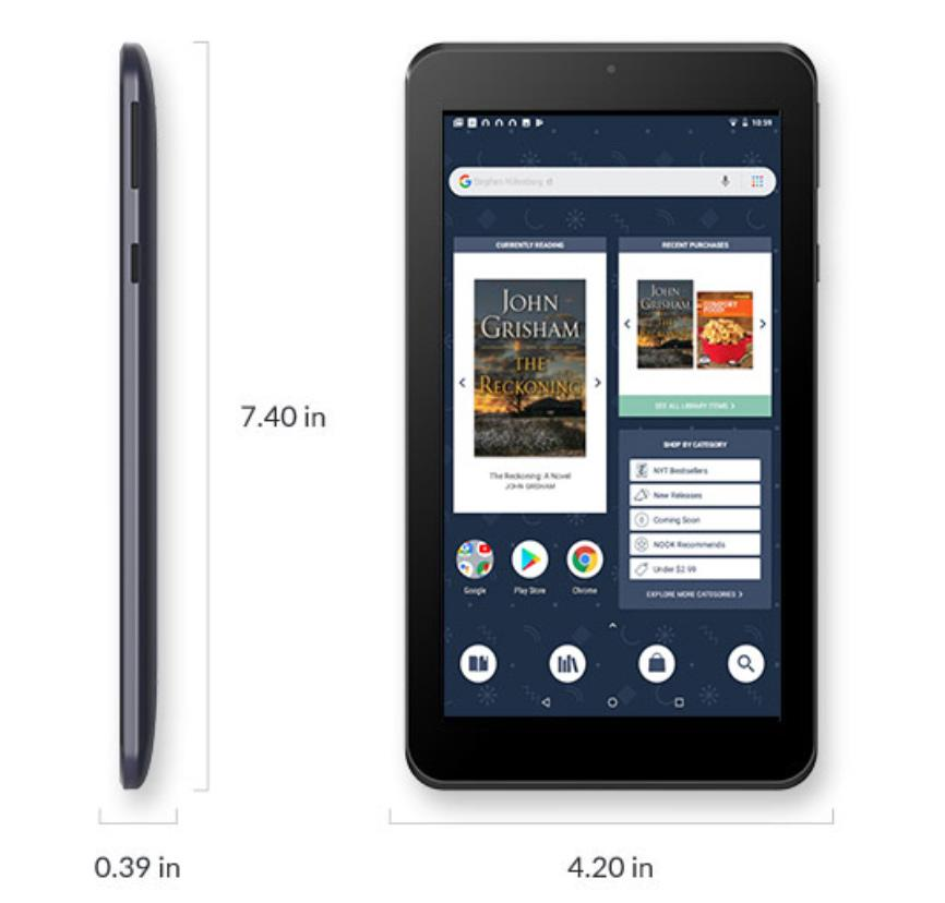 NOOK 7-inch appears as strong Amazon Fire tablet alternative