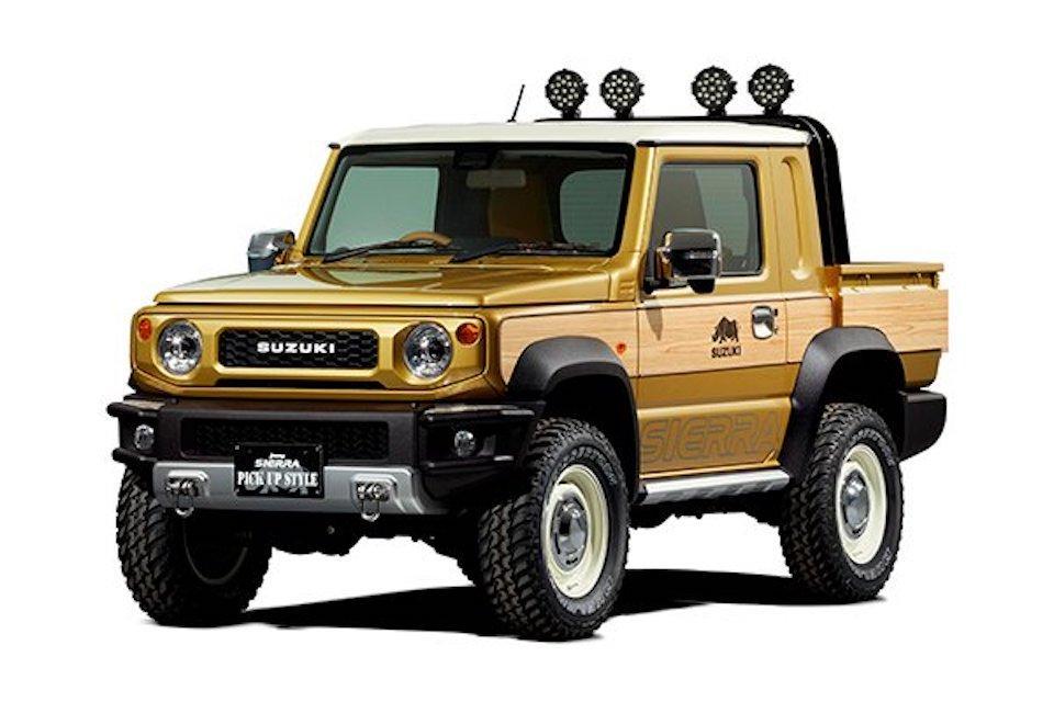 Suzuki's adorable Jimny concepts will make you want a retro pickup