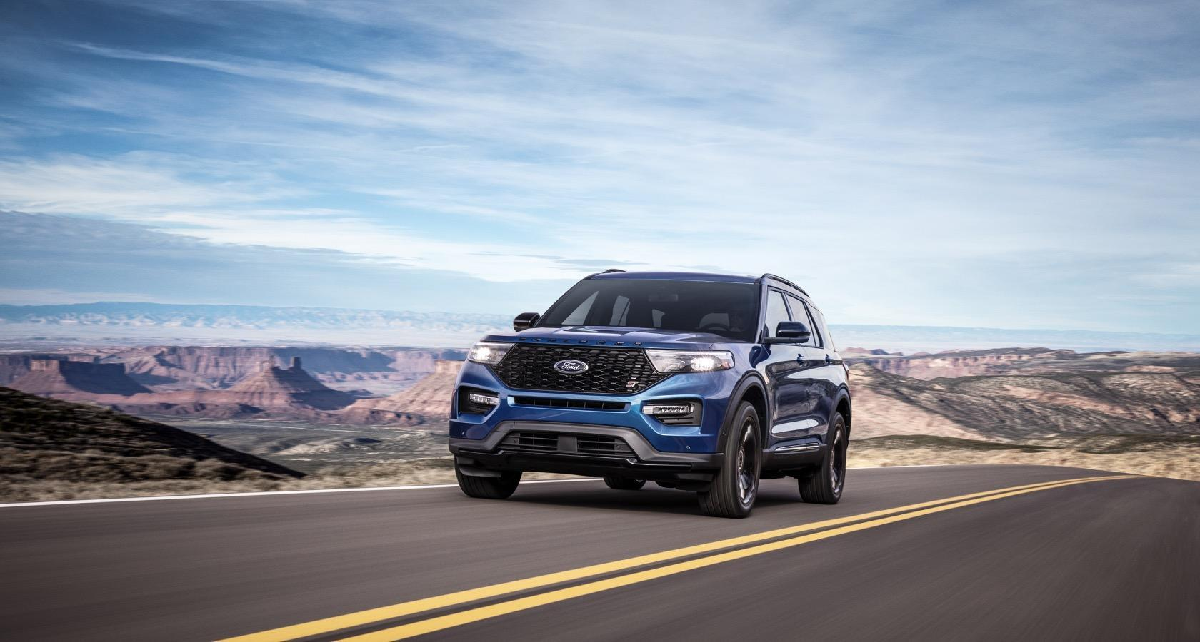 Ford Explorer Roof Rack >> 2020 Ford Explorer ST and Explorer Hybrid bring power and electric to Detroit - SlashGear