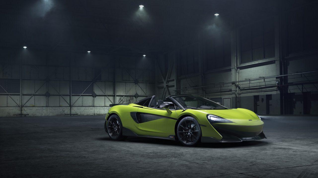McLaren 600LT Spider Gallery