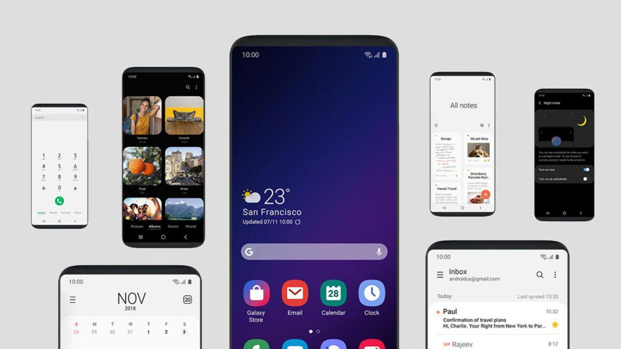 Galaxy S8 Android Pie update appears with One UI Beta - SlashGear