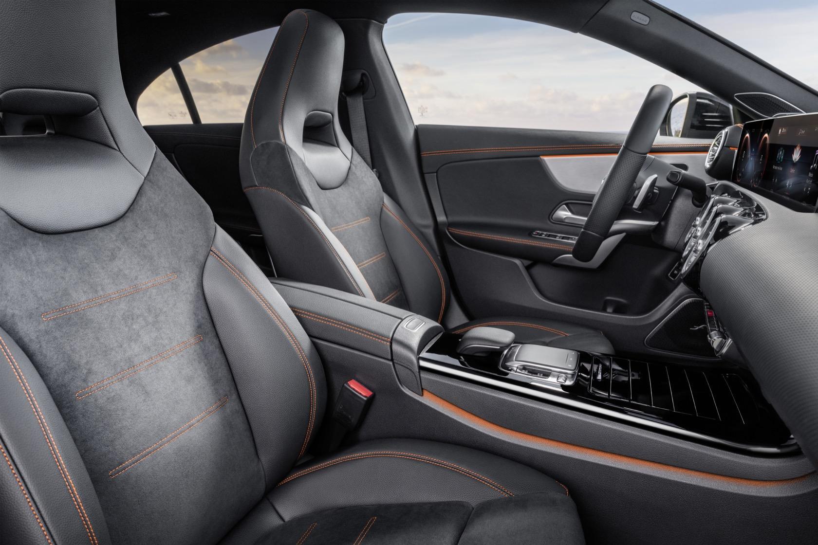 The 2020 Mercedes Benz Cla Coupe Is 4 Door Seduction Slashgear